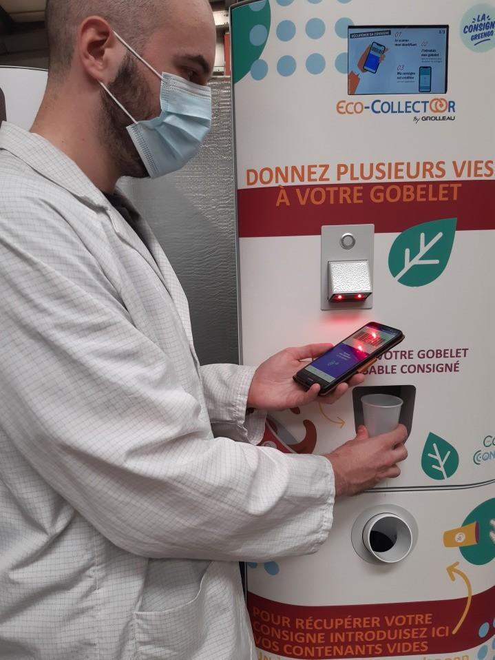 Eco-collectoor - application smartphone
