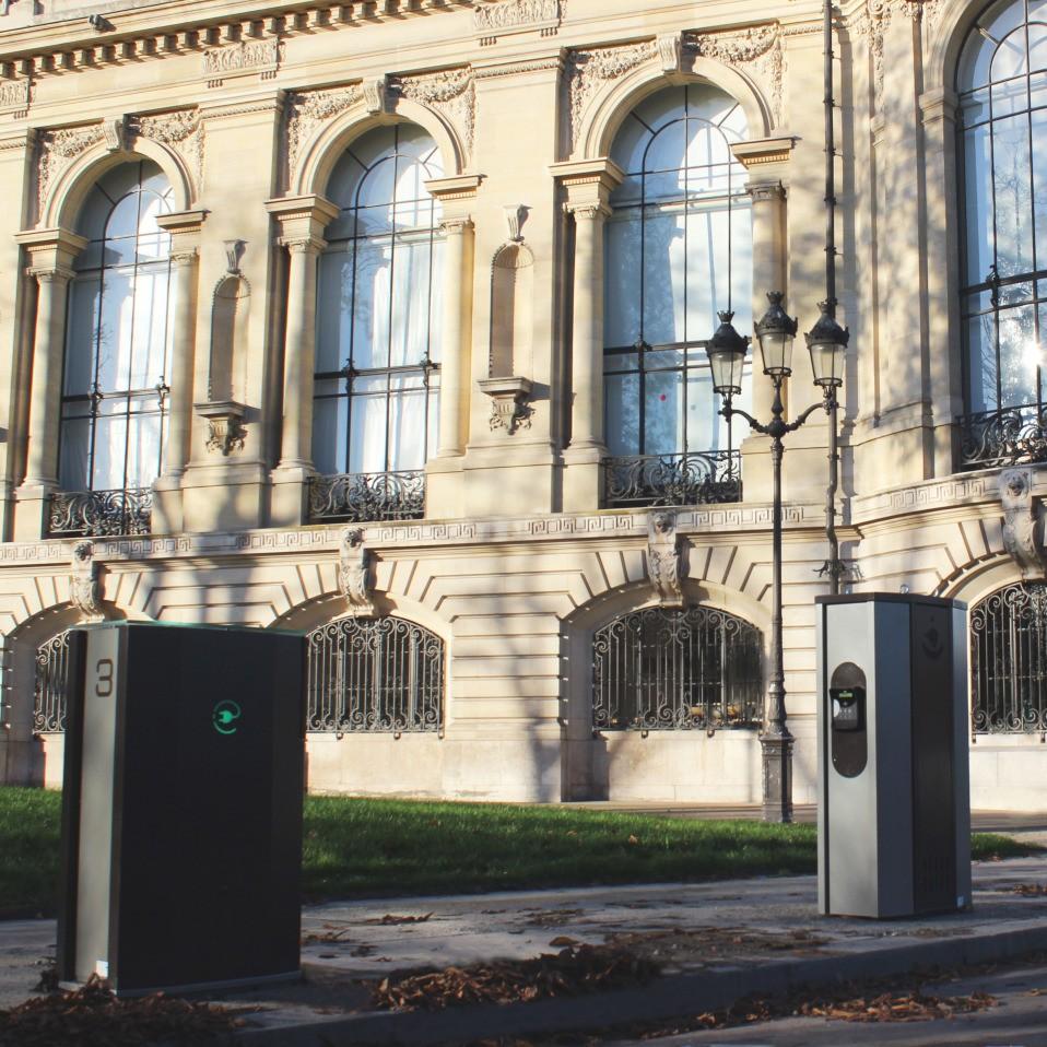 bornes Lafon Belib – Paris