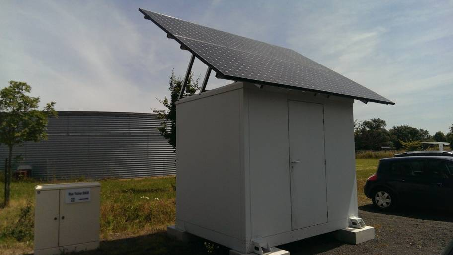 Shelter solaire Grolleau