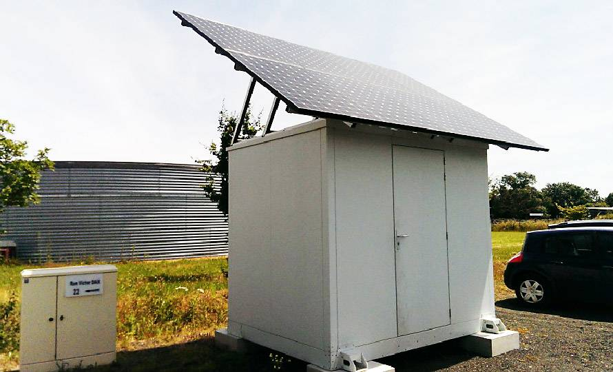 Shelter NRO solaire